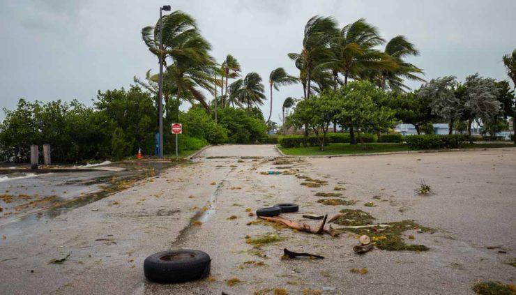 Hurricane Dorian aftermath feat