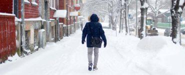 Snowfall Town