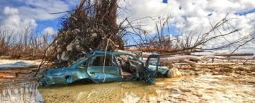 A photo from the Bahamas showing the aftermath of Hurricane Dorian