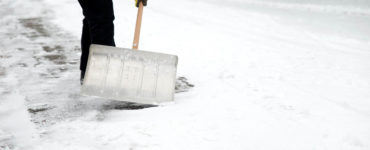 Shoveling Snow from a driveway