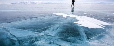 Person-on-frozen-lake