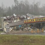 Tornadoes Wreak Havoc the South Overnight, More Severe Weather Coming