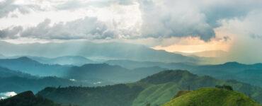 Rural mountainscape