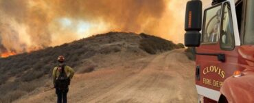 Clovis Fire Department responds to Mineral Fire in Fresno County, California