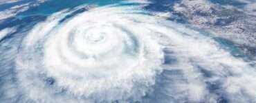 image of hurricane from satellite