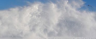 vortexes of snow