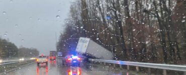 emergency vehicles during storm in NC