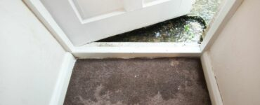 flooding in a home