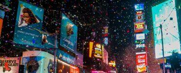 confetti in New York