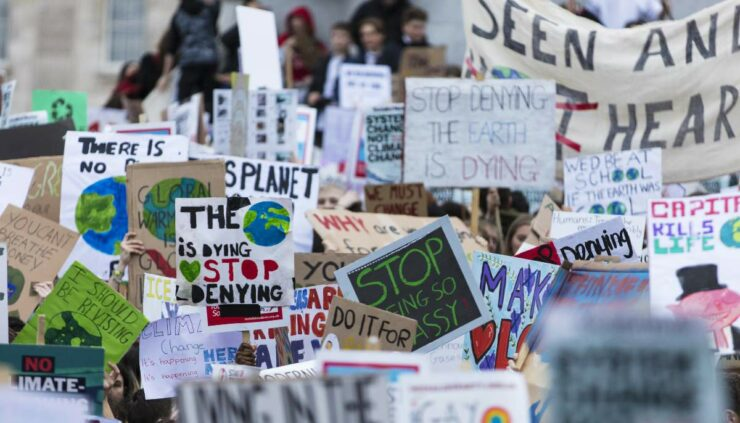 protests for climate change
