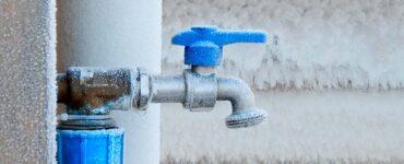 Icy spigot