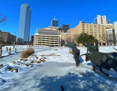 Frozen Texas