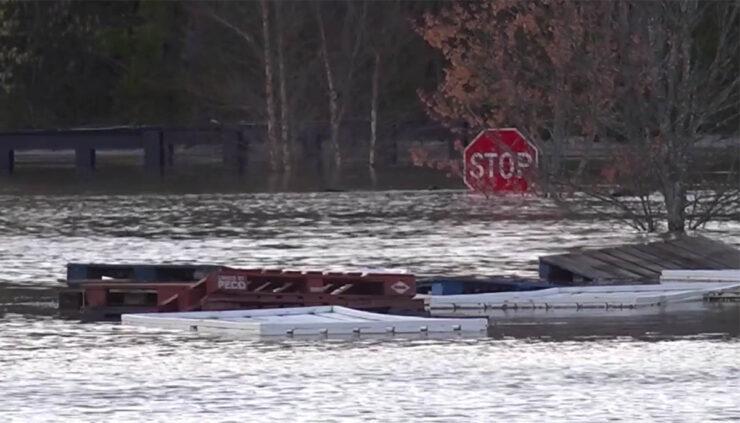 debris after Nashville floods