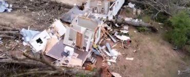 woman survives tornado